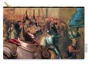 Doberman Pinscher Art -entree De Charles Viii Dans Florence Carry-all Pouch