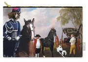 Drentse Patrijshond Art Canvas Print - The Prince Of Waless Phaeton  Carry-all Pouch