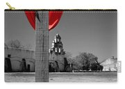 Mission San Juan Easter Cross Carry-all Pouch
