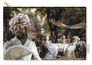 English Mastiff  - Mastiff Art Canvas Print - The Garden Party Carry-all Pouch