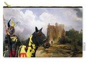 English Mastiff  - Mastiff Art Canvas Print - The Ruins Home Carry-all Pouch