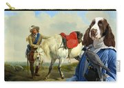 English Springer Spaniel Art Canvas Print Carry-all Pouch