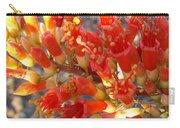 Fiery Orange Flower Carry-all Pouch