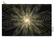 Filigree Flower Carry-all Pouch