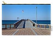 Fishing Pier Carry-all Pouch by Susan Leggett