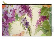 Flowering Butterfly Bush Carry-all Pouch