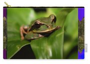 Frog Hideous Green Amphibian Carry-all Pouch