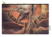Frontispiece From 'europe. A Prophecy' Carry-all Pouch by William Blake