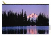 Glacier Peak Sunrise On Image Lake Carry-all Pouch