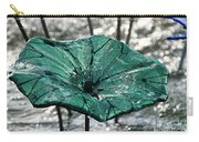 Glass Lily Pad  Carry-all Pouch