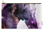 Horse In The Small Magellanic Cloud Carry-all Pouch by Anastasiya Malakhova