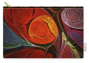 Hypnotic Flower Carry-all Pouch by Anastasiya Malakhova