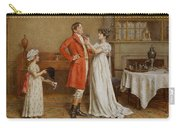 I Wish You Luck Carry-all Pouch by George Goodwin Kilburne