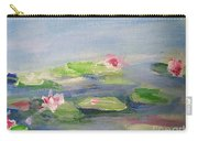Impressionistic Lilies Monet Carry-all Pouch