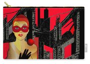 014 - In  Red   City Darkness Carry-all Pouch