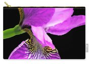 Japanese Iris Violet Black  Carry-all Pouch