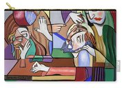 Jesus Anointed At Bethany Carry-all Pouch
