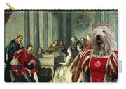 Komondor Art Canvas Print - Sextet Carry-all Pouch