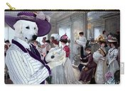 Kuvasz Art Canvas Print Carry-all Pouch