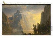 Lake In The Sierra Nevada Carry-all Pouch