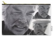 Lee Marvin Monte Walsh Variation #3 Collage Old Tucson Arizona 1969-2012 Carry-all Pouch