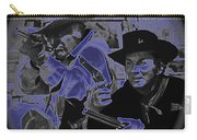 Leif Erickson And Cameron Mitchell  The High Chaparral Old Tucson Arizona 1969 Carry-all Pouch