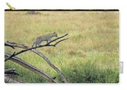 Leopard Cub In Serengeti Carry-all Pouch