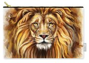 Lion Head In Front Carry-all Pouch