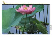 Lotus Flower At Calloway Carry-all Pouch