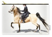 Lovely Gaited Buckskin  Carry-all Pouch
