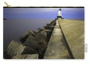 Ludington  Light House Michigan Carry-all Pouch