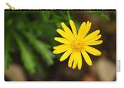 Marguerite Yellow Daisy Carry-all Pouch