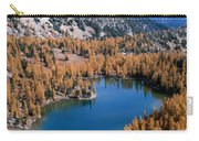 Martin Peak Above Cooney Lake Carry-all Pouch