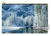 Merced River Reflection 2 Carry-all Pouch