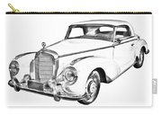 Mercedes Benz 300 Luxury Car Drawing Carry-all Pouch