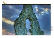 Midley Church Ruins At Dusk Carry-all Pouch
