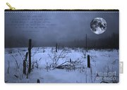 Native American Full Moon Treat The Earth Well Carry-all Pouch