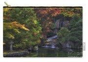 Nishinomiya Japanese Garden - Waterfall Carry-all Pouch