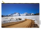 Open Road Tothe Sawtooth Mountains Carry-all Pouch