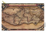 Ortelius World Map -typvs Orbis Terrarvm - 1570 Carry-all Pouch