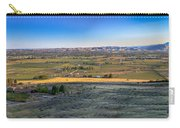 Panoramic Emmett Valley Carry-all Pouch
