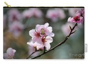 Peach Blossoms I Carry-all Pouch
