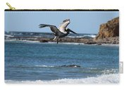 Pelican With Wet Feet Carry-all Pouch