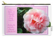 Pink Camellia - Happy Mother's Day Carry-all Pouch