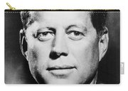 Portrait Of John F. Kennedy  Carry-all Pouch by American Photographer