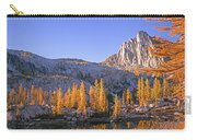 Prusik Peak Behind Larch Trees Carry-all Pouch