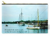 Psalm 107-29 He Maketh The Storm A Calm Carry-all Pouch by Susan Savad