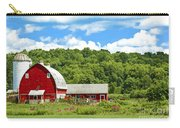 Red Farmstead In Summer Carry-all Pouch