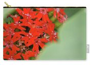 Red Butterfly Buds By Jammer Carry-all Pouch