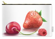 Red Fruits Carry-all Pouch